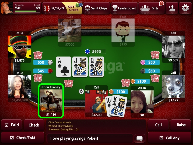 Play free online poker games!